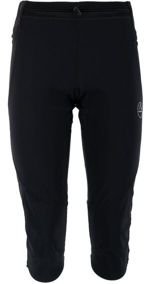La Sportiva Vortex 3/4 Pants Women Black/Grey
